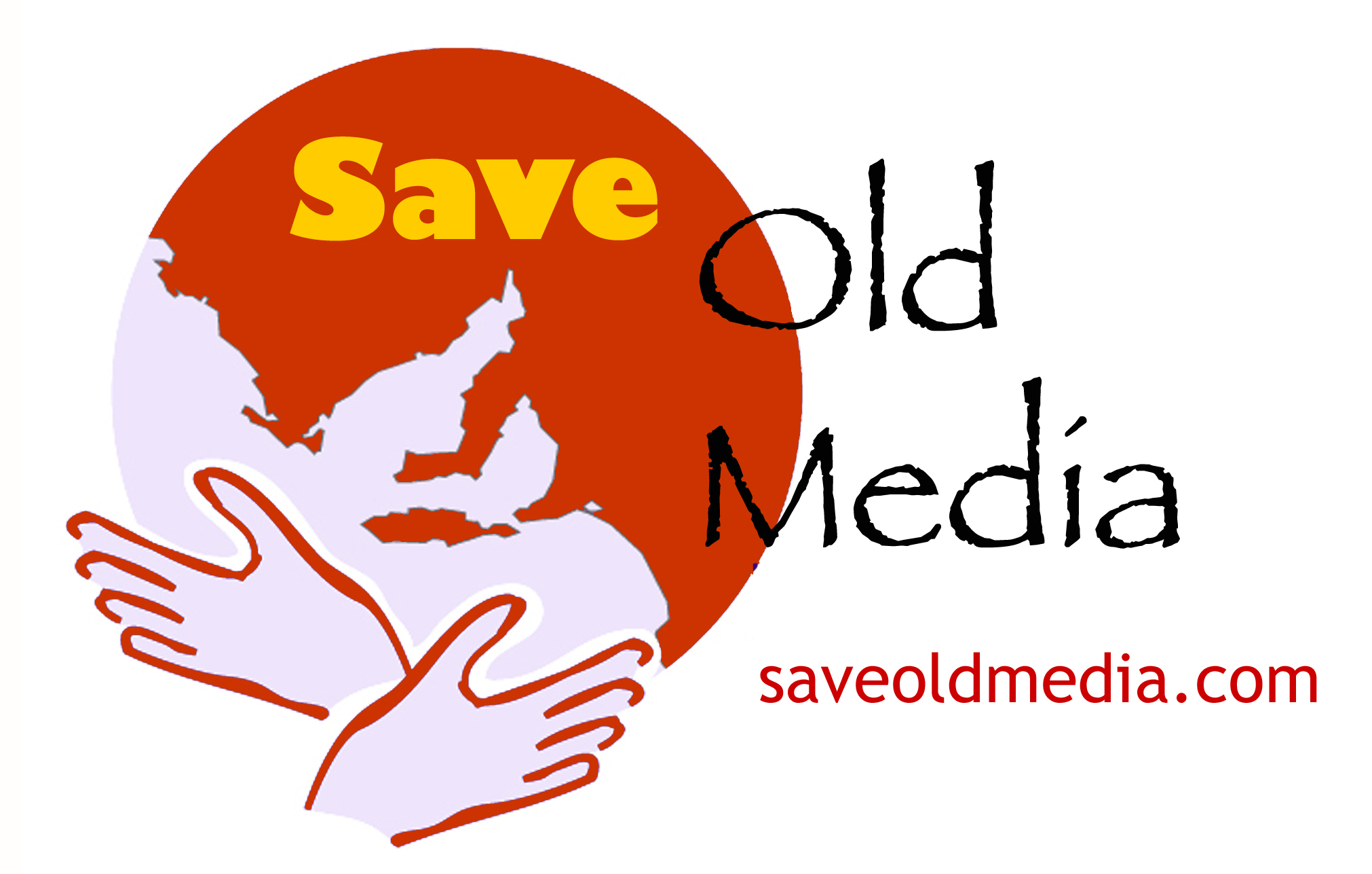 save old media logo