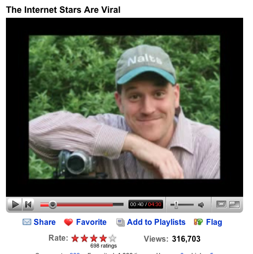 internet stars are viral