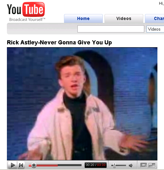 Rick Astley Makes Come Back With YouTube Prank | Will ...