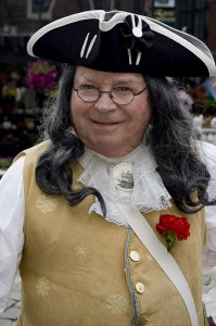 Ben Franklin lookalike