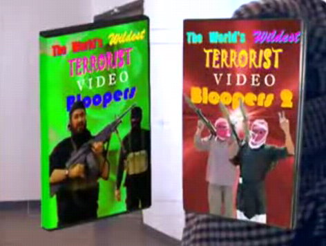 terrorist bloopers parody youtube video