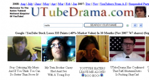 youtube drama utube drama