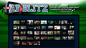 Youtube AdBlitz Superbowl Videos