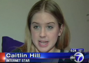 Caitlin Hill (thehill88) on ABC news