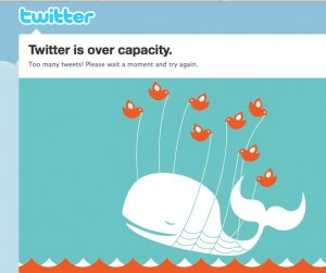 Twitter evil birds flying off with whale carcass