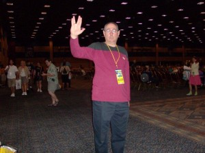 phil defranco at vidcon 2010