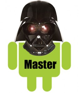 android droid cartoon darth vader vador head