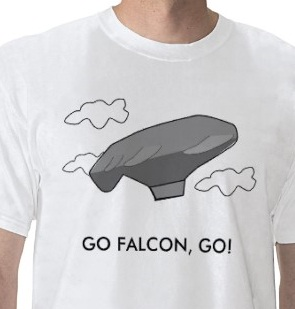 Balloon boy falcon shirt