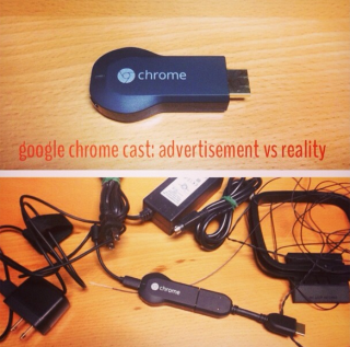 google chromecast wires
